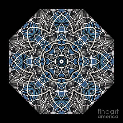 Digital Art - Papilloz - Mandala by Aimelle
