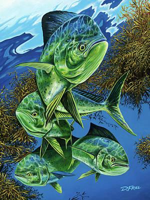 Papito Art Print by Dennis Friel