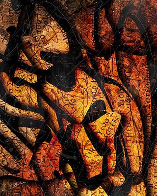 Papyrus Art Print by Gary Bodnar