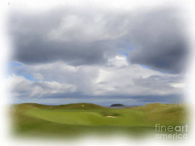 Par 3 Ireland Art Print by Jan Daniels
