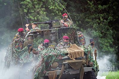 Photograph - Para-commandos by Arterra Picture Library