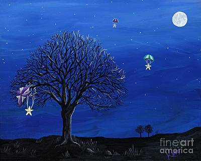 Painting - Para-shooting Star Trio by Kerri Ertman