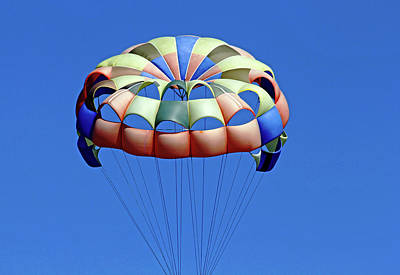Photograph - Parachute by Debbie Oppermann