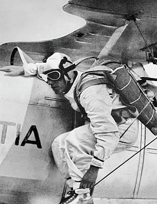 Photograph - Parachute Jump, C1930 by Granger
