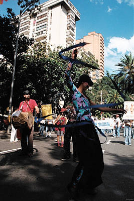 Photograph - Parade Dancer by David Cardona