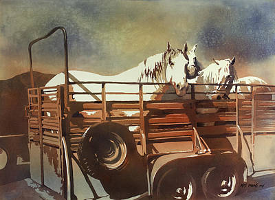Teton Painting - Parade Day by Kris Parins