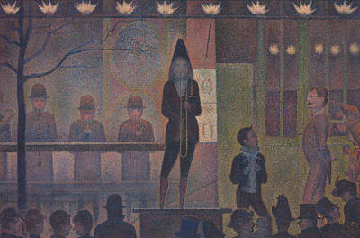 Painting - Parade De Cirque by Georges-Pierre Seurat
