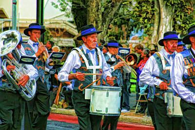 Marching Band Photograph - Parade Musicians by Douglas Barnard