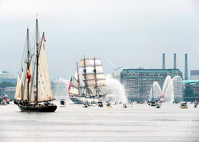 Photograph - Parade Of Sails  by Janice Drew