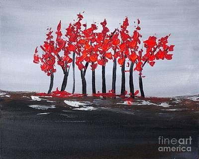 Painting - Paradise 1 by Preethi Mathialagan