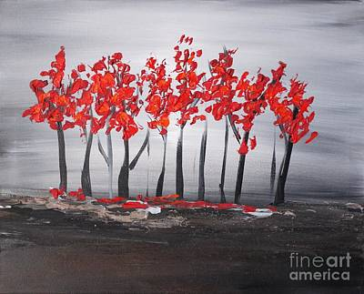 Painting - Paradise 2 by Preethi Mathialagan