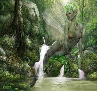 Digital Art - Paradise by Ali Oppy