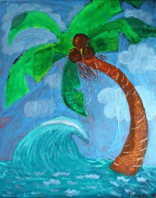 Paradise Art Print by Amy Parker