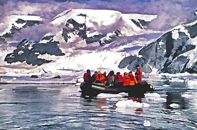 Paradise Bay  Art Print by Dennis Cox