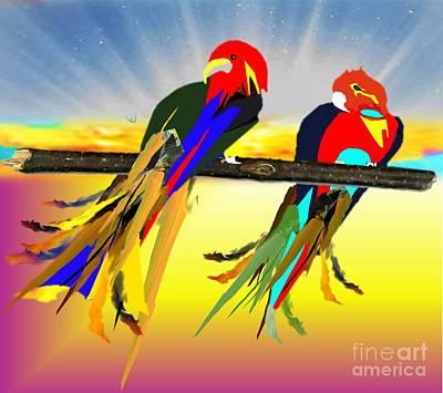 Painting - Paradise by Belinda Threeths