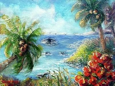 Painting - Paradise  by Bernadette Krupa