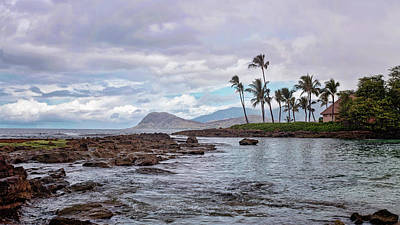 Art Print featuring the photograph Paradise Cove Lagoon by Heather Applegate