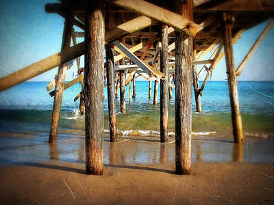 Photograph - Paradise Cove Pier by Glenn McCarthy Art and Photography