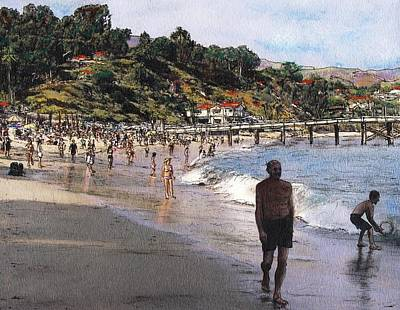 Malibu Mixed Media - Paradise Cove by Randy Sprout