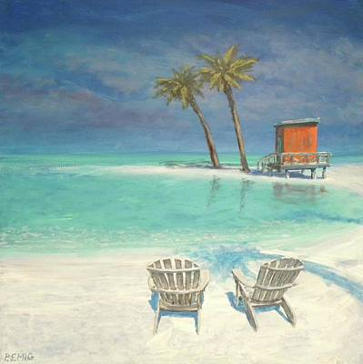 Painting - Paradise Dream by Paul Emig