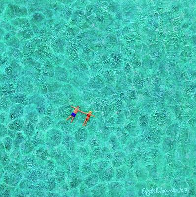 Painting - Paradise by Elizabeth Langreiter