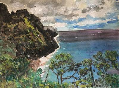 Painting - Paradise Found In Kauai  by Dorothy Visker