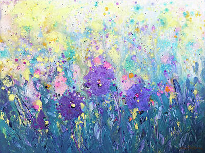 Painting - Paradise Gardens by Gina De Gorna