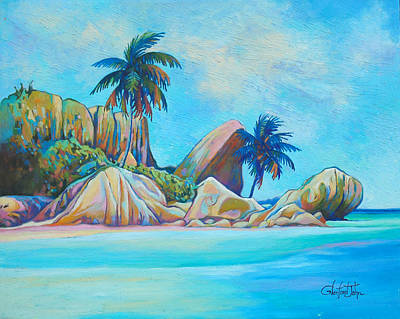Painting - Paradise by Glenford John