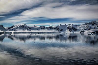 Photograph - Paradise Harbor Antarctica by John Haldane