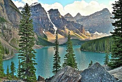 Photograph - Paradise In Banff by Frozen in Time Fine Art Photography