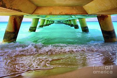 Bahamas Pier Photograph - Paradise In Grand Turk by Mariola Bitner