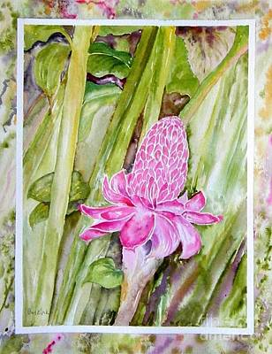Painting - Paradise In Vloom by Diane Kirk