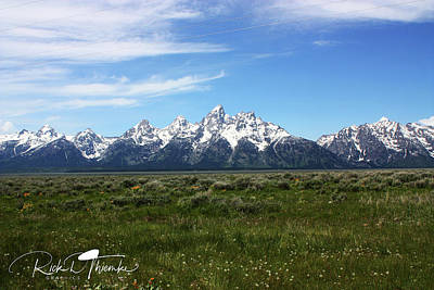 Photograph - Paradise In Wyoming by Rick Thiemke