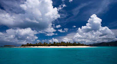 Panoramic Photograph - Paradise Is Sandy Cay by Adam Romanowicz