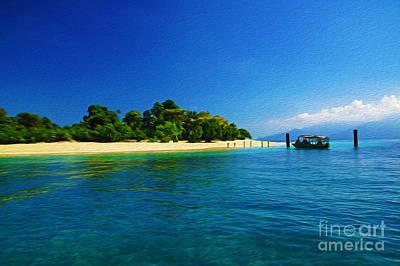 Paradise Island Haiti Art Print