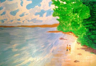 Painting - Paradise Island by Josie Weir