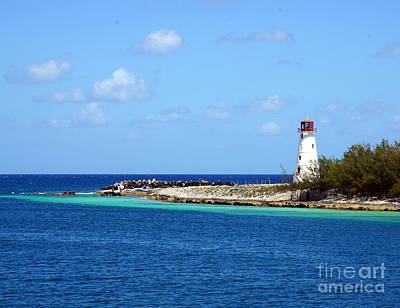 Photograph - Paradise Island Lighthouse  by Rachel Munoz Striggow