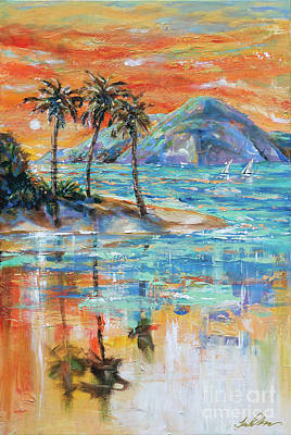 Painting - Paradise Island by Linda Olsen