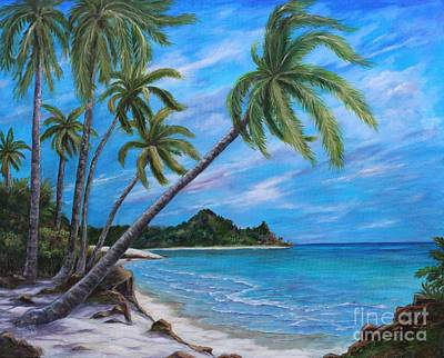 Painting - Paradise Island by Marlene Kinser Bell