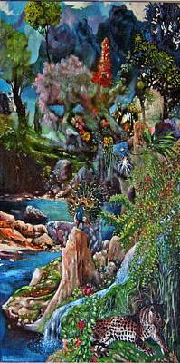 Wall Art - Painting - Paradise by Klaus Grumbach