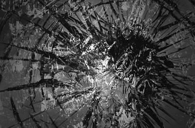 Digital Art - Paradise Lost B N W by Richard Andrews