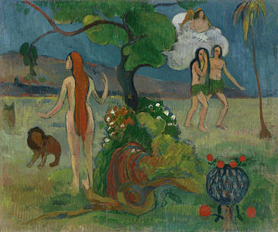 Painting - Paradise Lost by Paul Gauguin