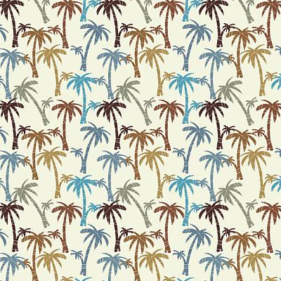 Digital Art - Paradise Palms by Kevin Putman