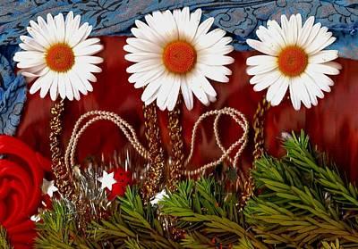 Ladybug Mixed Media - Paradise  Peace by Pepita Selles