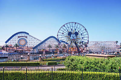 Photograph - Paradise Pier by Jason Butts