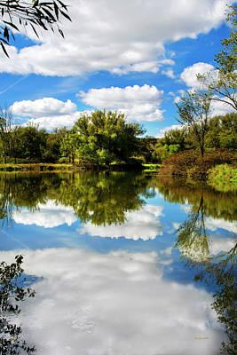 Photograph - Paradise Reflection Landscape by Christina Rollo