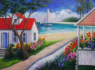 Painting - Paradise by Rosie Sherman