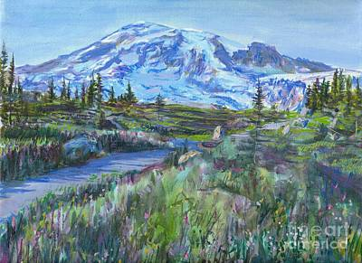 Painting - Paradise Trail by LeRoy Jesfield