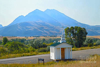 Photograph - Paradise Valley Chapel by Catherine Sherman