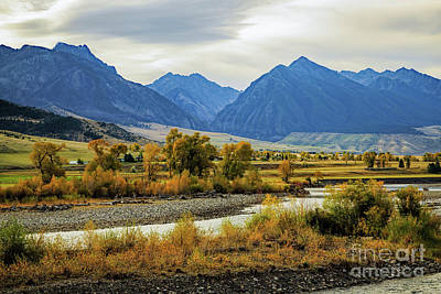 Gallatin River Photograph - Paradise Valley by Jon Burch Photography